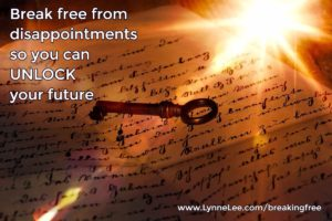 break free from disappointments