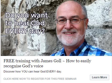 No Cost training - How to hear God - James Goll