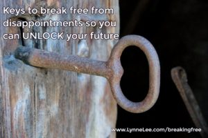 keys to break free from disappointments
